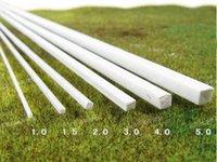 Wholesale 10 mm mm cm ABS Styrene Plastic Rectangular Square Tube Model Layout Making Material