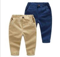 Wholesale Spring Kids Boys long Pencil Pants Hot New Children s Clothing Boys Casual trousers cotton Trousers