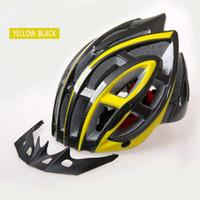 Wholesale Gold Hands International Popular Cycling Safety Bike Helmets Pro Team Head Helmets Wear Ultralight Six Color Free Size lt CM