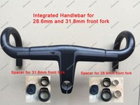 Wholesale T800 UD Weave Carbon Handlebar mm mm Integrated Bar Road Bicycle Handlebar
