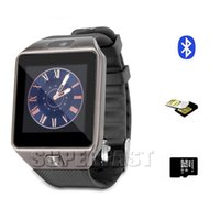 Android French Push Message Smartwatch DZ09 Smart Watch Bluetooth Grade A Smart Watch For IOS Android Cell Phone 1.56 inch SIM Card 20pcs with Retail Package