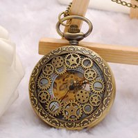 Wholesale Ms new high grade waterproof mechanical watch male hollow out high end pocket watch pendant watch manufacturer