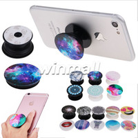 air pop - Retail Package Air Pop Expanding Stand Grip bracket for Tablets Stand Support Cell Phone Holder M Glue for iPhone