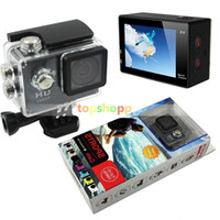 best quality camcorder - SJ4000 style A9 Inch LCD Screen P Full HD Action Camera M Waterproof Camcorders SJcam Helmet Sport DV Car DVR FREE DHL Best quality