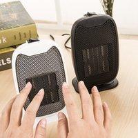 Wholesale 2017 hot Mini heater Electric Desktop Fan heater ceramic PTC fan heaters Home handy Heaters W color