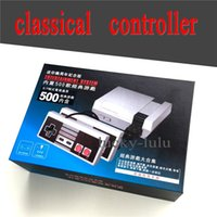 Controlador juegos usb Baratos-Clásico juego USB controlador Gamepad con Retail Box Game Pad para Nintendo NES Windows PC Mac