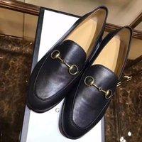 JXW09 Noir blanc Espadrille de placard de mode Bling Boucle en métal Loafers plat Chaussures de conduite Chaussures plates Chaussures de femmes en cuir véritable Sz 35-39