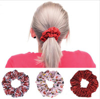 Wholesale New Pretty Knot Elastic Hair Rubber Bands Ponytail Hair rings Bracelets fabric knotted headwear hair accessories