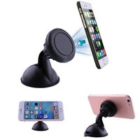 Mobile Phone auto gps holder - Degree Magnet Car Auto Windscreen Holder Stand For Mobile Smart Cell Phone GPS