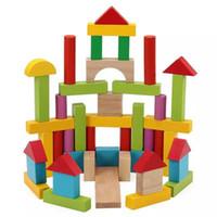 Rompecabezas Juguetes educativos para niños Inteligente 3-8 años de edad regalos de madera divertida Mega bloques coloridos juguetes