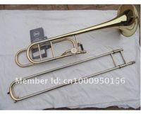 Wholesale Bach BO Senior Sandhi Tenor Trombone Imports Alloy Copper Surface Gold Bb Trombone Musical Instruments