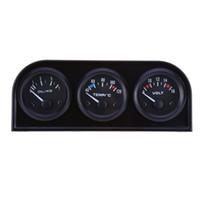 Precio de Pressure sensor-B734 52MM 3 in1 Precisión del automóvil Voltímetro del calibrador automático Temperatura del agua Sensor de presión del aceite Kit triple con mayor precisión