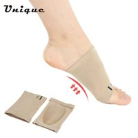 Wholesale 1 Pair Flat Feet Orthotic Plantar Fasciitis Arch Support Sleeve Cushion Pad Heel Spurs Foot Care Insoles foot Pad Orthotic Tool