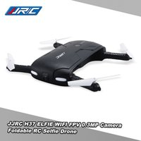 al por mayor quadcopter fpv-Original JJRC H37 Gyro de 6 ejes ELFIE WIFI FPV 0.3MP Cámara Quadcopter plegable G-sensor Mini RC Selfie Drone RM7429