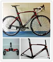 Wholesale Hot sell red Full Carbon Road complete Bike Bicycle With Ultegra Groupset For Sale mm easton wheelset