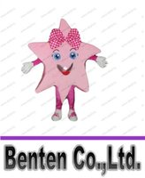 adult activity holidays - pink star mascot star girl mascot costume adult size kids activities performing costumes holiday carnival fancy dress kits LLFA