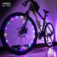 Wholesale Hot Wheels Cycling Wheel Rim Lights Motorcycle bicycle Wheels lights Led Bike Night Riding Lights Accessories