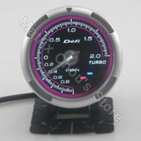 Wholesale INCH MM Defi Advance C2 Gauge V2 Turbo Boost Gauge DUAL LED Pink Model White Light DF12602