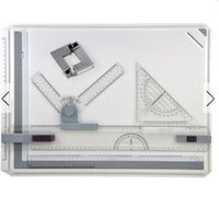 adjustable drawing table - A3 Drawing Board Table with Parallel Motion and Adjustable Angle