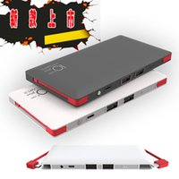Wholesale Newest MAH Portable Power Bank For Android Mobile Phone And Iphone C S Plus And Tablet PC