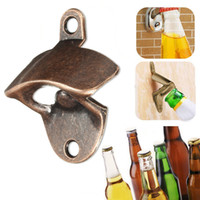 Wholesale Bronze Wall Mounted Wine Beer Soda Glass Cap Bottle Opener Kitchen Bar Product MD1015