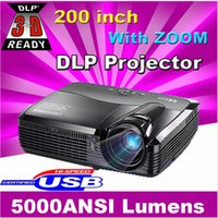 advertising education - inch screen Brightest Lumen Business Advertising Education data D Full HD DLP Projector Beamer Projektor Proyector