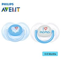 Wholesale AVENT Professional Soothie Pacifier For Months Baby BPA Free Non Toxic Kids Nipple Feeding Pacifier Safe Baby Supplies
