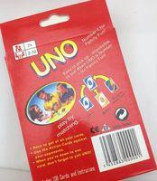Wholesale UNO poker card standard edition children interesting poker game