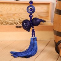 Wholesale Car interior car accessories with glass ornaments brave gourd perfume car