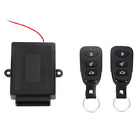 Wholesale Car Auto Vehicle Remote Central Kit Door Lock Unlock Window Up Keyless Entry System MHz Universal Electric with Air Lock
