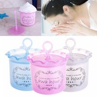 Wholesale U119 Fashion Unisex Beauty Facial Cleaning Foam Device Cup Whipped Bottle Tool