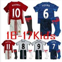 Wholesale Whosales Kids Soccer Jerseys Holland Youth Jerseys Football Shirt Soccer Uniforms Kit Sets For Training Suit Youth Child Kit