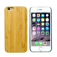 Cheap For Apple iPhone For Apple iPhone 6 6s 7 7plus Case Best Wood Real Bamboo Wood Case Cover Skin geniune wood Back Cover Hot selling