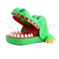 Wholesale Pop Creative Big Crocodile Mouth Bite Finger Game Toy Family Game For Kids Gift