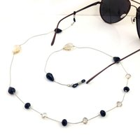 Wholesale GL055 pc fashion eyewear hot sale eyewear products fancy handmade beads women sunglass chains