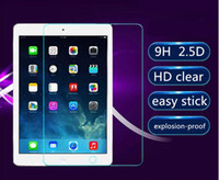 Wholesale clear Tempered Glass film for ipad mini air pro H D HD clear explosion proof Anti Scratch screen protector skins BFM002