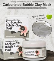Wholesale 3color carbonated Bubble clay mask Elizavecca milky piggy Moisturising Whitening masks elizavecca clay mask