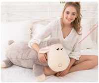 Wholesale Le said Doll pillow cute baby doll plush toys cushion for leaning on of sheep sheep doll girl a birthday present
