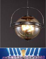 bars coffee - LOFT Glass Simple Bar Lighting Fixture Vintage Living Room Bedroom Coffee House Creative Industrial Style Pendant Lamp MYY