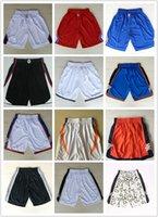 basketball clippers jerseys - Men s Clippers Basketball Shorts Men Nets Running Shorts Summer Beach Spurs Sport Shorts Thunder For Men Plus Size