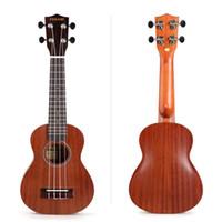 Wholesale Ukulele Soprano Sapele Ukulele Guitar Hawaiian Ukulele Uke Tauro TR S Small Guitar Ukelele Strings Musical Instruments