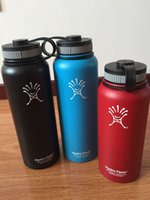 Wholesale 40OZ Hydro Flask Outdoor Coolers Stainless Steel Insulation Cup Cars Beer Mug