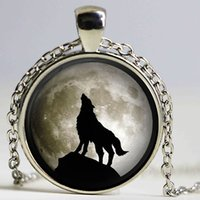 arctic chain - New Wolf Arctic wolf Necklace Personalized vintage dragon Wolf jewelry Necklace