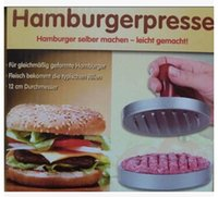 bbq hamburgers - plate japan Presse hanmburger single hole hamburger patties tv products hamburger grill plate BBQ Accessories plate