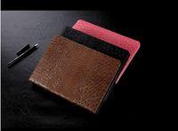 animal print fabric for sale - Crocodile grain book style pad cases for iPad Mini Ultra thin Sim PU Leather Stand Case inch iPad Pro Air Folding Cover hot sale