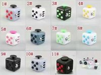 Wholesale Hot selling novelty Fidget Cube stress relief toys for kids and adults colors Decompression stress balls