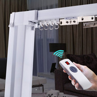 Wholesale best price high quality the motorized curtain track the smart home used motorized curtains AUTORAIL motor AT5808