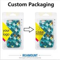 La nueva llegada modifica los bolsos plásticos del PVC Pakckaging de la INSIGNIA de la compañía para la caja del teléfono para el bolso de empaquetado del iphone 7 7plus