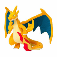 Wholesale 9 quot quot Pikachu Go Plush Doll Stuffed Toy Mega Evolution X Y Charizard Soft Stuffed Plush Doll Cartoon Firedragon Gift for Kid