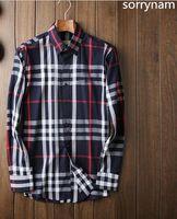Wholesale 2017 Brand Men s Business Casual shirt mens long sleeve striped slim fit camisa masculina social male shirts new fashion shirt